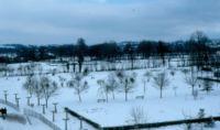 1979 - L'escadron 3/9 sous la neige - congères près d'AUNAY-SUR-ODON.